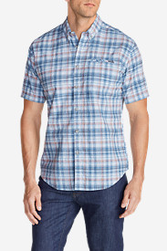 Big & Tall Shirts for Men: Men's Bainbridge II Short-Sleeve Seersucker Shirt