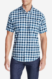 Travel Shirts for Men: Men's Bainbridge II Short-Sleeve Seersucker Shirt
