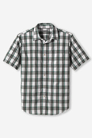 Comfortable Shirts for Men: Men's Classic Fit Legend Wash Poplin Shirt