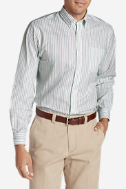 Men's Wrinkle-Free Relaxed Fit Oxford Cloth Shirt - Pattern
