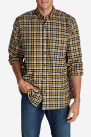 Comfortable Shirts for Men: Men's Eddie's Favorite Flannel Relaxed Fit Shirt - Plaid