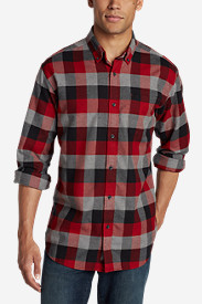 New Fall Arrivals: Men's Eddie's Favorite Flannel Relaxed Fit Shirt - Plaid