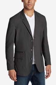 Spandex Jackets for Men: Men's Voyager II Travel Blazer