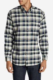 Comfortable Shirts for Men: Men's Eddie's Favorite Flannel Slim Fit Shirt