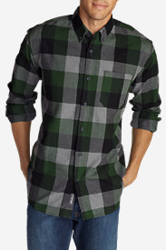 Men's Eddie's Favorite Flannel Slim Fit Shirt