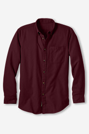 Men's Eddie's Favorite Flannel Relaxed Fit Shirt - Solid