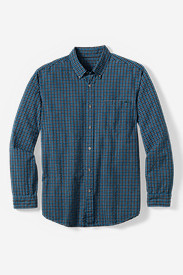 Men's Classic Fit Long-Sleeve Seersucker Shirt