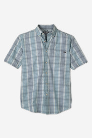 Men's Classic Fit Short-Sleeve Seersucker Shirt