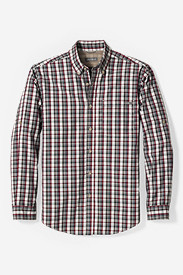 Long Sleeve Shirts for Men: Men's On The Go Poplin Shirt