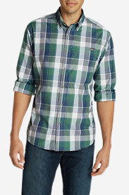 Big & Tall Shirts for Men: Men's On The Go Poplin Shirt