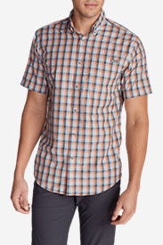 Big & Tall Shirts for Men: Men's On The Go Short-Sleeve Poplin Shirt