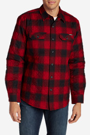 Mens New Fall Arrivals: Men's Eddie's Favorite Flannel Quilted Shirt Jacket