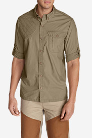 Beige Dress Shirts for Men: Men's Palouse Long-Sleeve Shooting Shirt