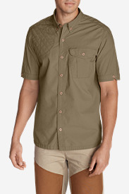 Beige Dress Shirts for Men: Men's Palouse Short-Sleeve Shooting Shirt
