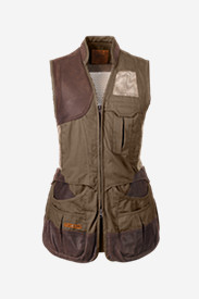 Womens Vests: Women's Clay Break Premium Shooting Vest