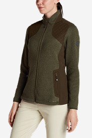 Green Petite Outerwear for Women: Women's Daybreak IR Full-Zip Jacket