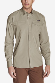 Travel Shirts for Men: Men's Ahi Long-Sleeve Shirt