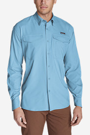 Blue Shirts for Men: Men's Ahi Long-Sleeve Shirt