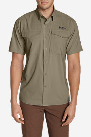 Travel Shirts for Men: Men's Ahi Short Sleeve Shirt