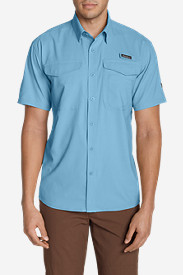 Blue Shirts for Men: Men's Ahi Short Sleeve Shirt