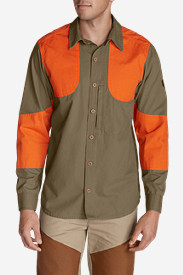 Long Sleeve Shirts for Men: Men's Okanogan Hunting Shirt - Blaze