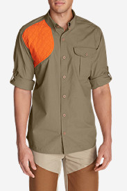 Beige Dress Shirts for Men: Men's Palouse Long-Sleeve Hunting Shirt