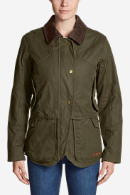 Waxed Cotton Jackets for Women: Women's Kettle Mountain StormShed Jacket