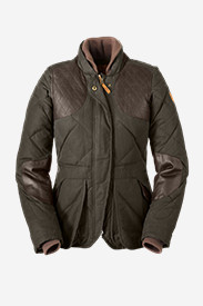 Leather Jackets for Women: Women's 1936 Skyliner Model Hunting Jacket