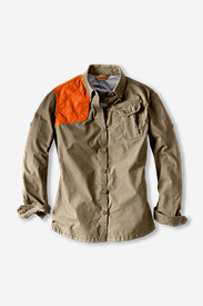 Button-Down Tops for Women: Women's Palouse Long-Sleeve Hunting Shirt
