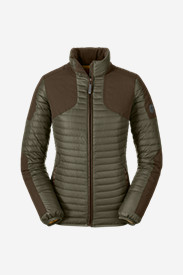 Green Petite Outerwear for Women: Women's MicroTherm StormDown Field Jacket