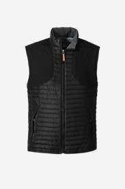 Black Vests: Men's MicroTherm® StormDown® Field Vest