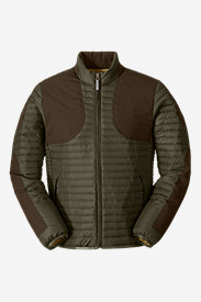 Water Resistant Jackets: Men's MicroTherm StormDown Field Jacket