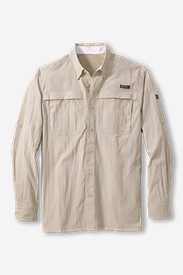 Mens Fishing Shirts: Men's Guide Long-Sleeve Shirt