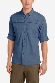 Blue Shirts for Men: Men's Guide Long-Sleeve Shirt
