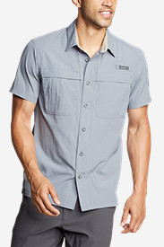Blue Shirts for Men: Men's Guide Short-Sleeve Shirt