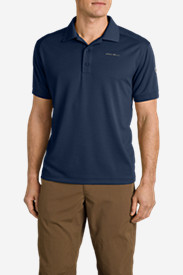 Blue Shirts for Men: Men's Flats Polo Shirt