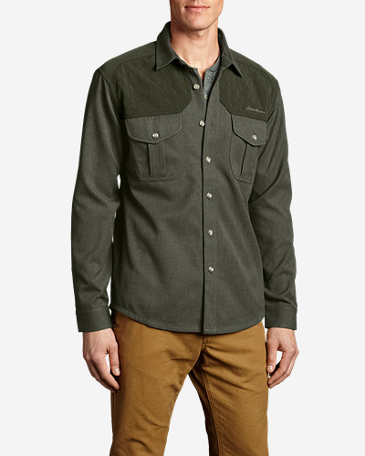 Green Shirts for Men: Men's Holding Point Shirt