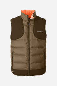 Polyester Vests for Men: Men's Downlight® Reversible Field Vest