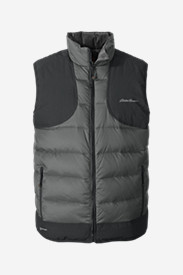 Gray Vests for Men: Men's Downlight® Reversible Field Vest