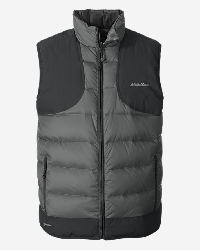 Eddie Bauer Mens Downlight Reversible Field Vest