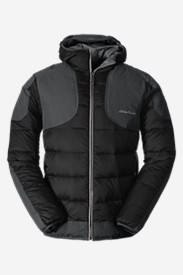 Big & Tall Jackets for Men: Men's Downlight Hooded Field Jacket