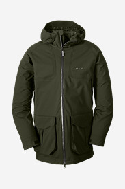 Water Resistant Jackets for Men: Men's 3-In-1 Field Parka