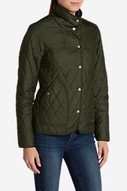 Insulated Jackets for Women: Women's Year-Round Field Jacket - Solid