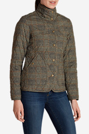 Water Resistant Jackets: Women's Year-Round Field Jacket - Plaid