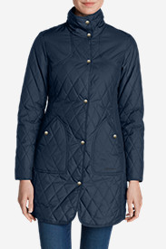 Blue Petite Outerwear for Women: Women's Year-Round Field Coat