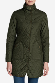 Green Trench Coats for Women: Women's Year-Round Field Coat