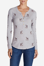 Women's Ilaria Woodsie Henley Shirt