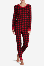 Women's Stine's Favorite Waffle Buffalo Check Onesie