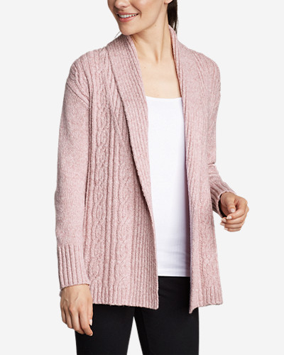 Women's Cable Sleep Cardigan by Eddie Bauer