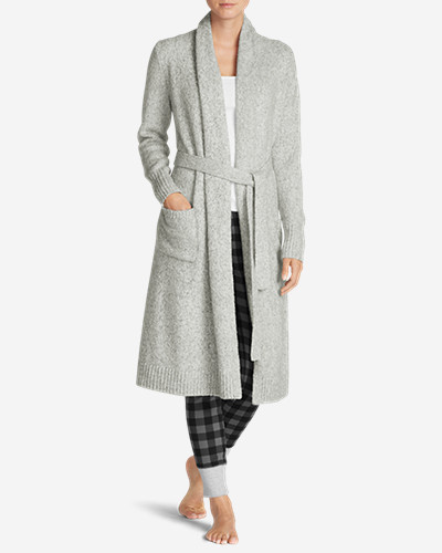 Cotton Cardigans for Women: Women's Long Sleep Cardigan